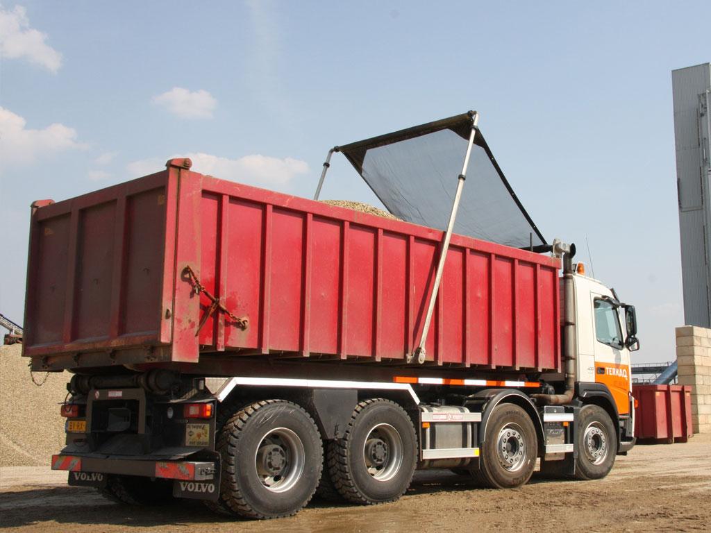 Kipper, Vorderkipper und Abroll Container